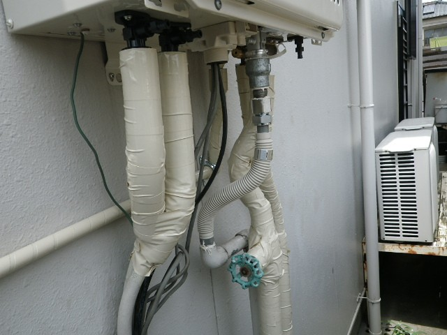 ガス給湯器取替工事 施工事例 愛知県知多郡