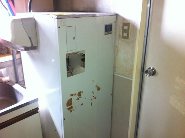 愛知県北名古屋市 電気温水器取替工事 施工事例
