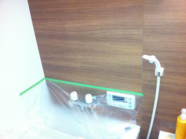 浴室TV 取付工事 施工事例