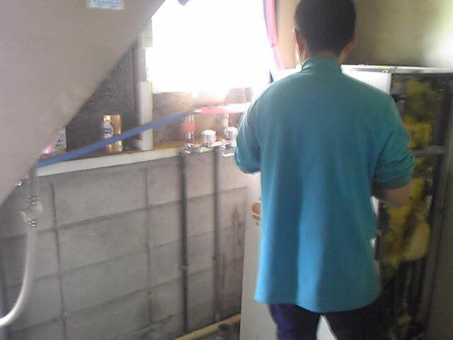 電気温水器取替工事 施工事例