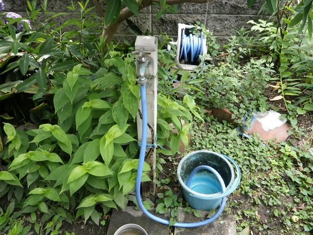 水栓柱取替工事 施工事例 名古屋市瑞穂区 施工前