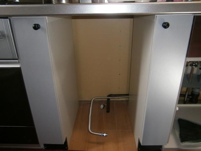 ビルトイン食洗器取付工事 施工事例 愛知県碧南市
