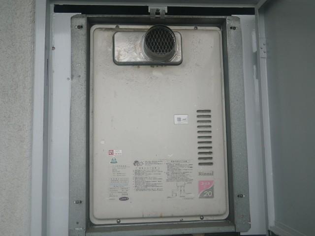 ガス給湯器取替工事 施工事例 愛知県東浦町