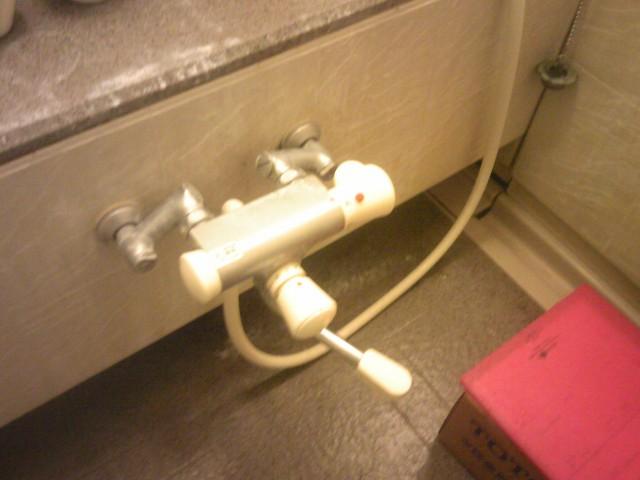 浴室水栓取替工事 施工事例 名古屋市中区