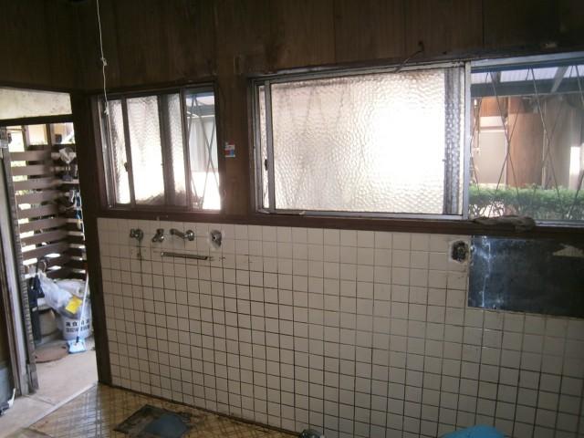 キッチンリフォーム 施工事例 名古屋市守山区 撤去