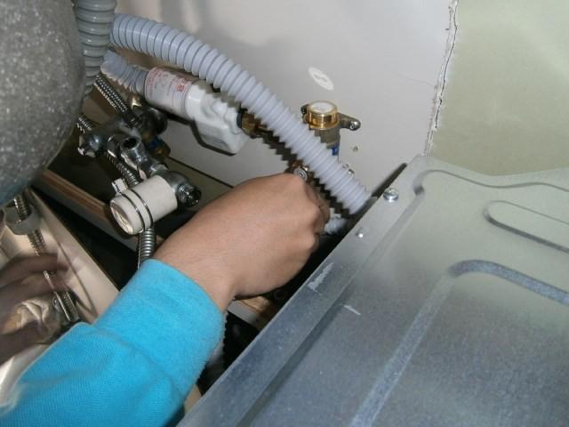 トップオープン食洗機取替工事 施工事例 名古屋市港区