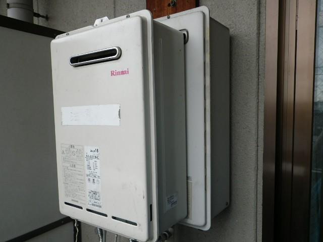 ガス給湯器取替工事 施工事例 愛知県春日井市 施工事例