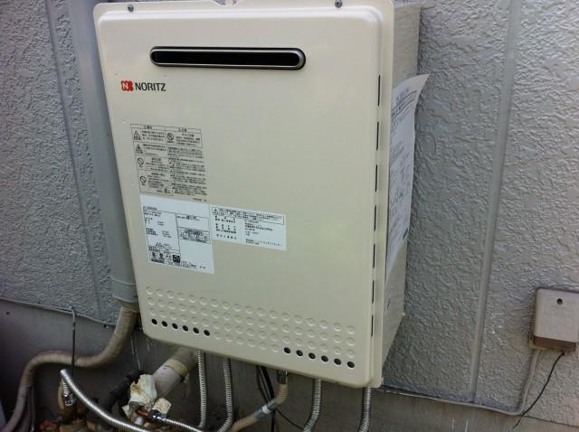 ガス給湯器取替工事 施工事例 愛知県大府市