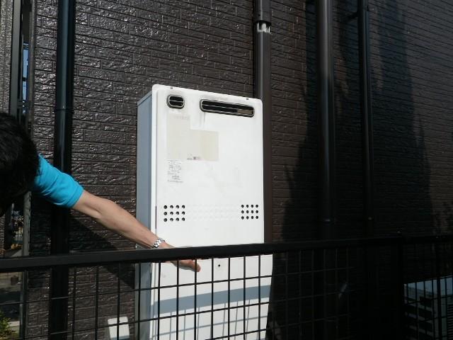 ガス給湯器取替工事 施工事例 愛知県瀬戸市