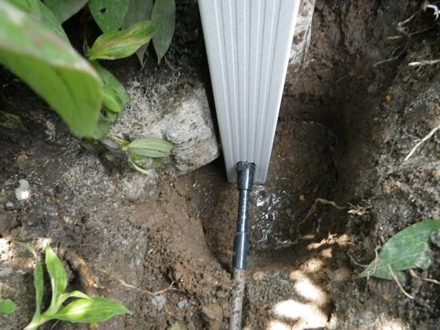 水栓柱取替工事 施工事例 名古屋市瑞穂区 施工中