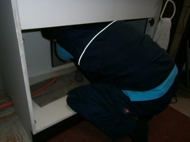 ビルトイン食洗器 施工事例 愛知県東海市