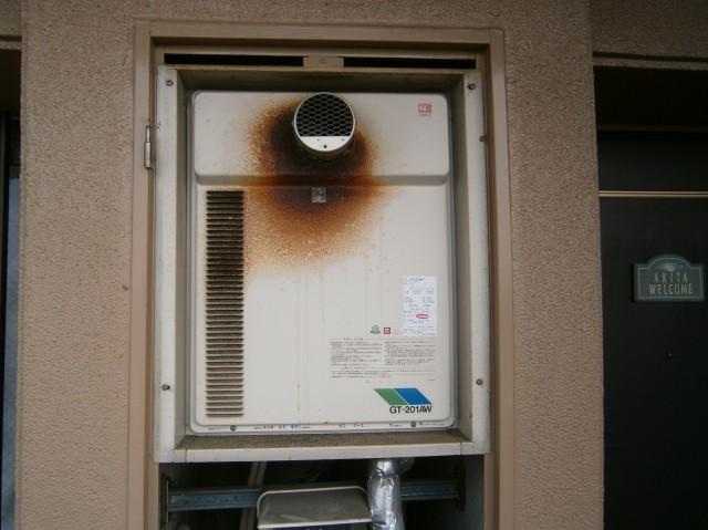 給湯器取替工事 施工事例 名古屋市西区 施工前