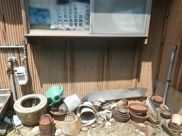 ガス給湯器取付工事 施工事例 豊橋市 施工前