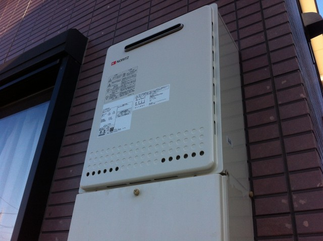 ガス給湯器取替工事 施工事例 丹羽郡扶桑町 完成