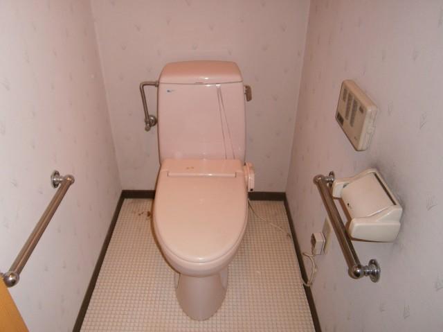 トイレ取替工事 施工事例 名古屋市中区 施工前