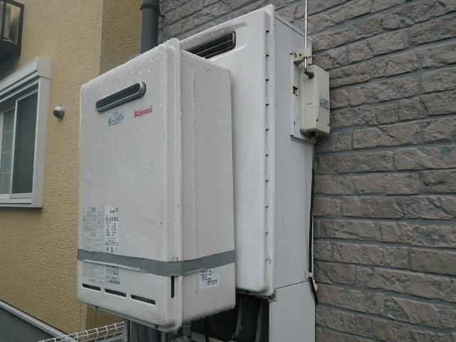 ガス給湯器取替工事 施工事例 愛知県一宮市