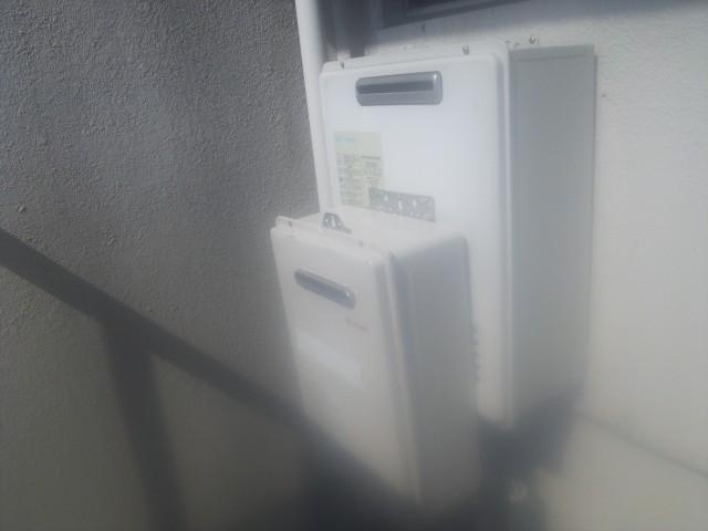 ガス給湯器取替 工事施工事例 名古屋市西区 施工前