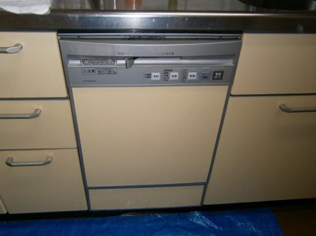 食洗器取替工事 施工事例 名古屋市緑区 施工前