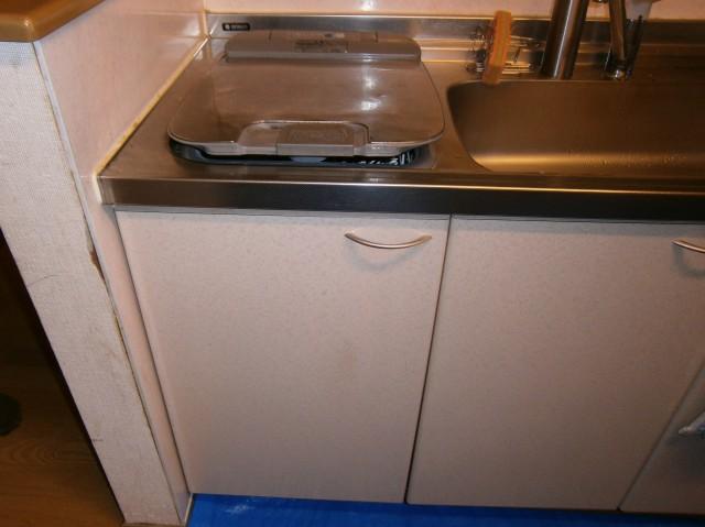 食洗器取替工事 施工事例 中津川 施工前