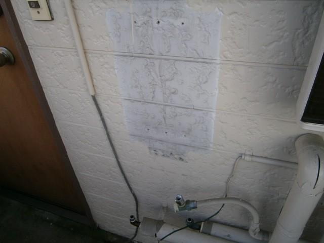 給湯器取替工事 施工事例 名古屋市天白区 撤去後