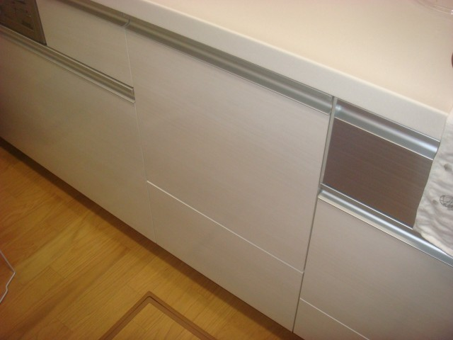 ビルトイン食洗機新規取付工事 施工事例 知多市 施工前