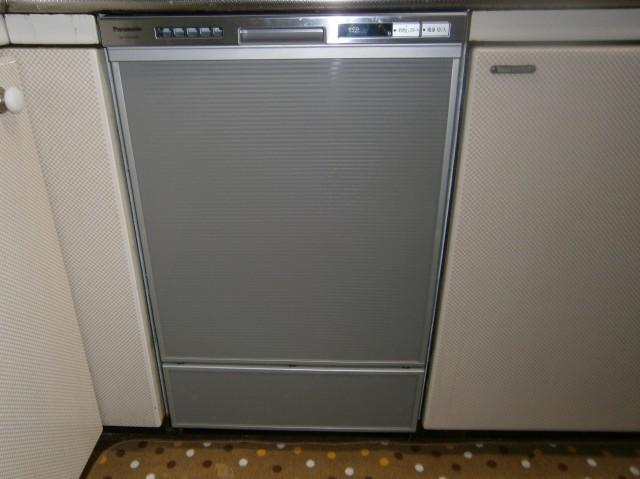 食洗器取替工事 施工事例 名古屋市中村区 試運転中