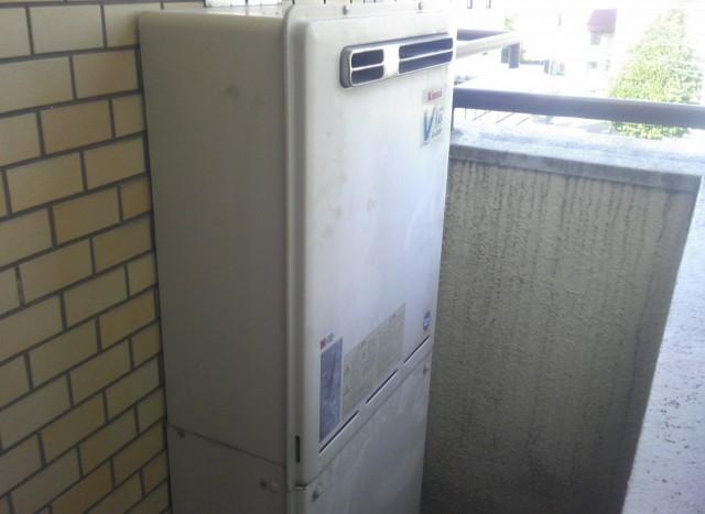 給湯器取替え工事 施工事例 名古屋市名東区 施工前