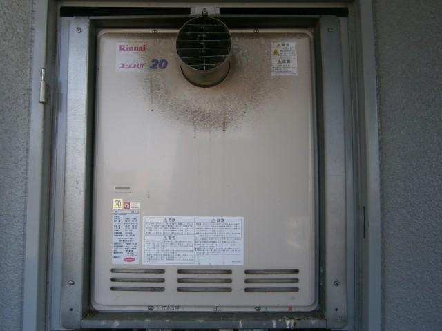 ガス給湯器 取替工事 施工事例 知立市 施工前