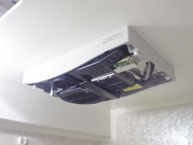 浴室暖房乾燥機 新規取付工事 施工事例 名古屋市守山区 グリルガイド施工