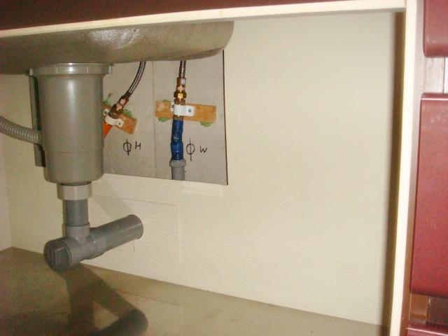 ビルトイン食洗機取替工事 施工事例 豊明市 施工前