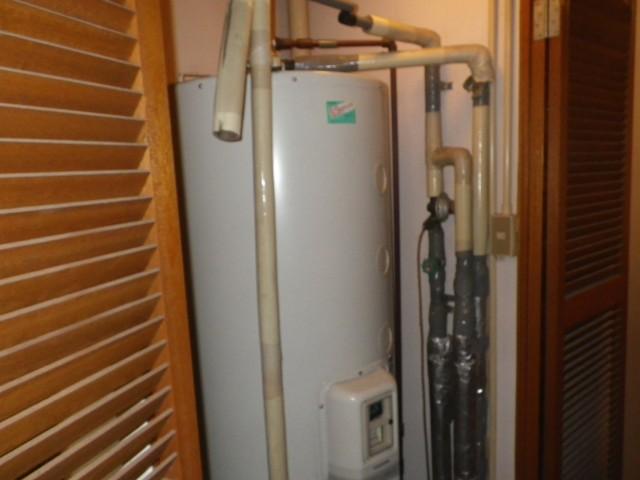電気温水器取替え工事 名古屋市西区