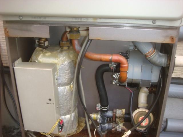 ガス給湯器 交換工事 施工事例 四日市市 即湯タンク