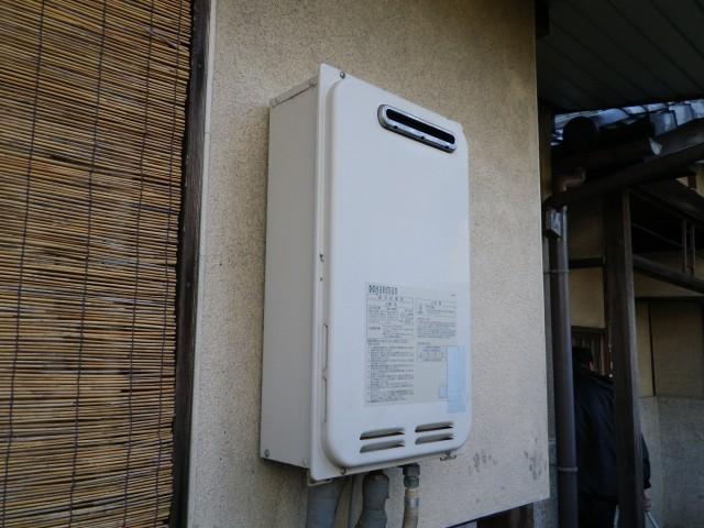 ガス給湯器 交換工事 施工事例 稲沢市 施工前