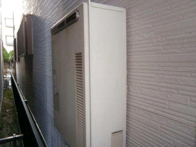 ガス給湯器 交換工事 施工事例 名古屋市緑区 施工前