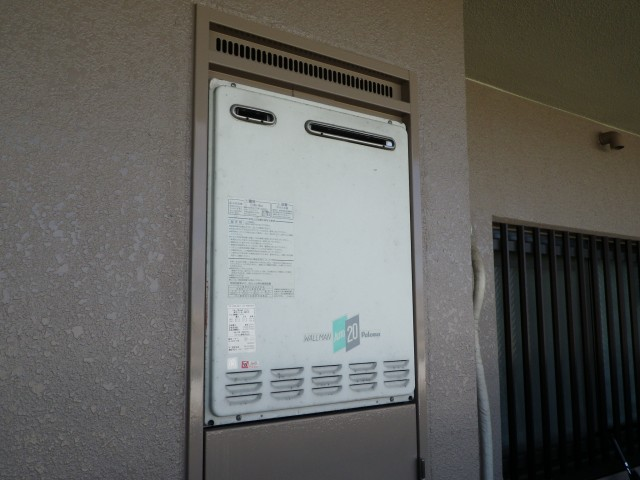 名古屋市西区 施工事例 ガス給湯器 交換工事 施工前