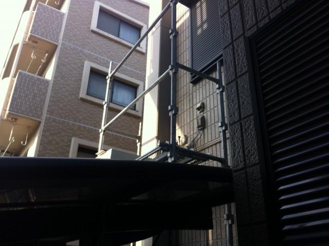 安城市 ガス給湯器 交換工事 撤去中