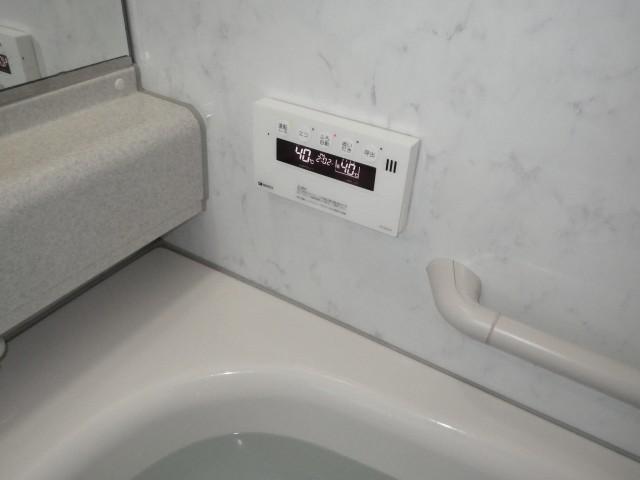 四日市市 ガスふろ給湯器交換工事 浴室リモコン