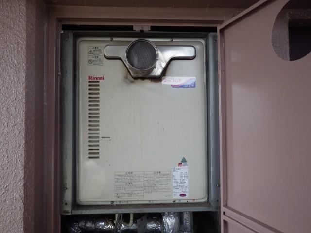 北名古屋市 ガス給湯器 交換工事 施工前