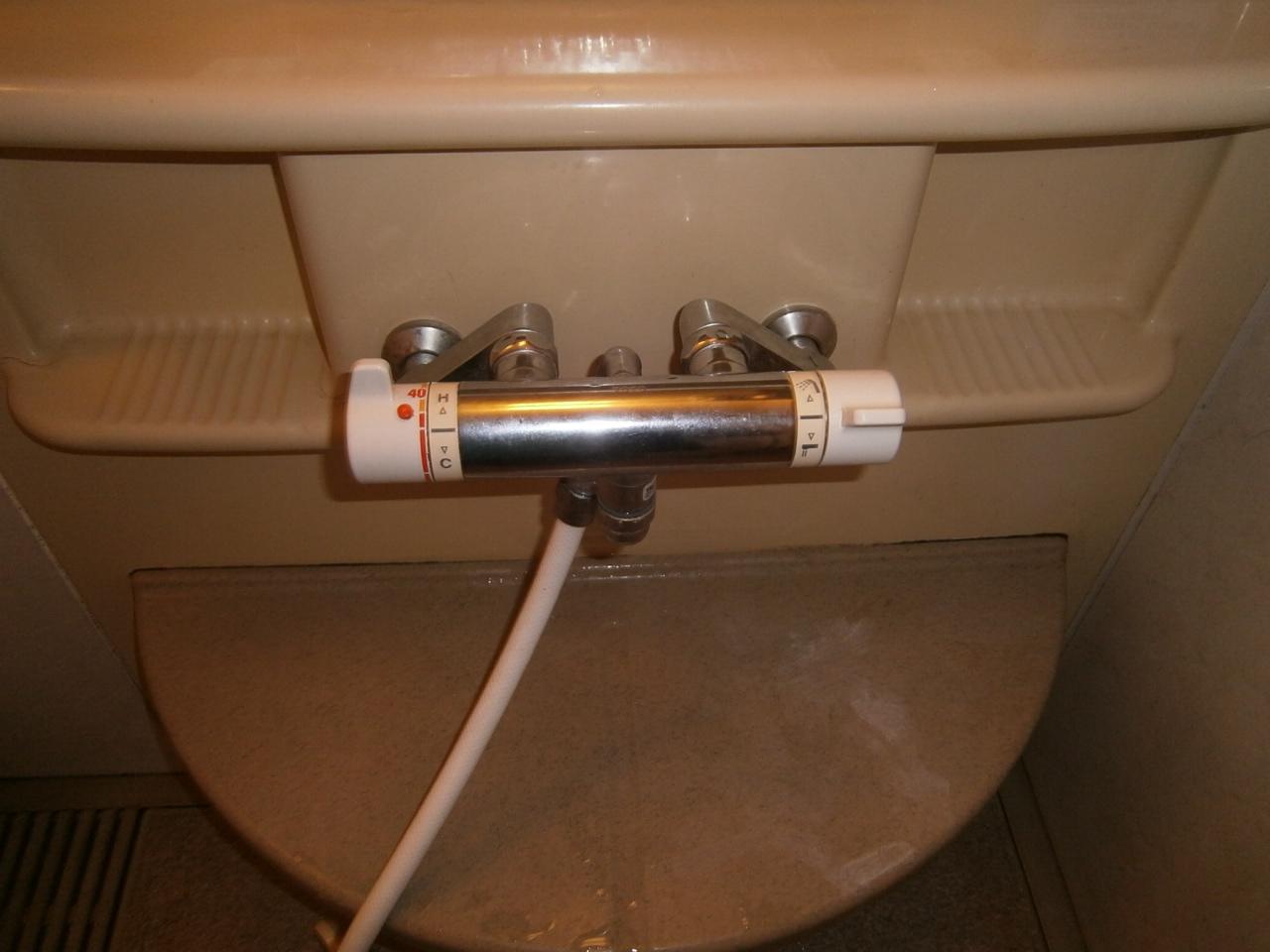 名古屋市北区 浴室水栓取替工事 施工前