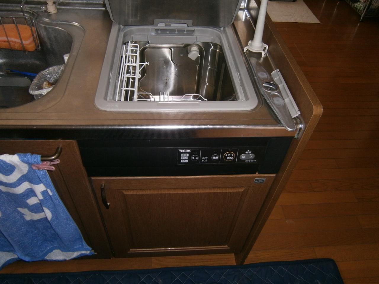 岩倉市 食洗器取替工事 施工前