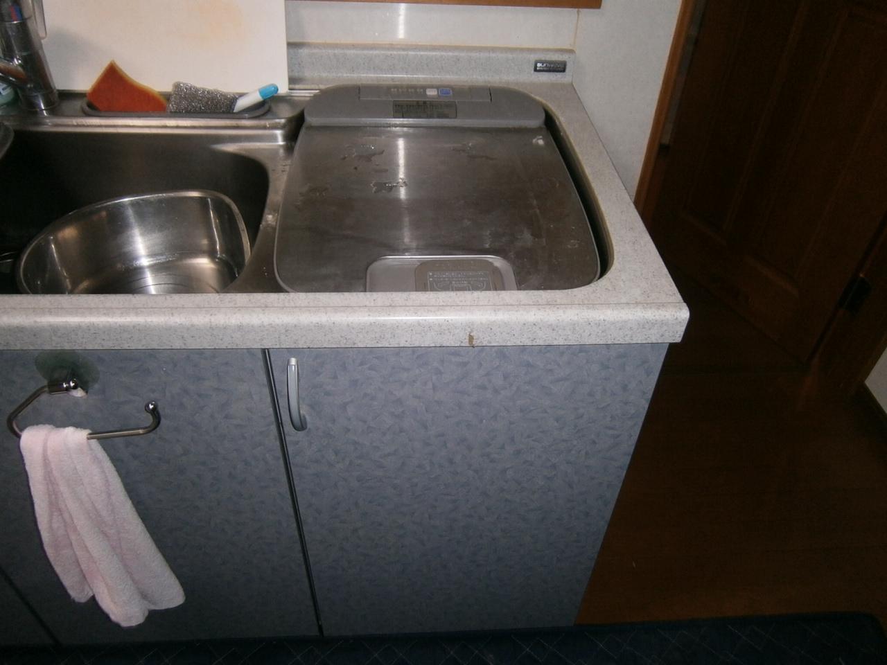 名古屋市天白区 食洗器取替工事 施工前