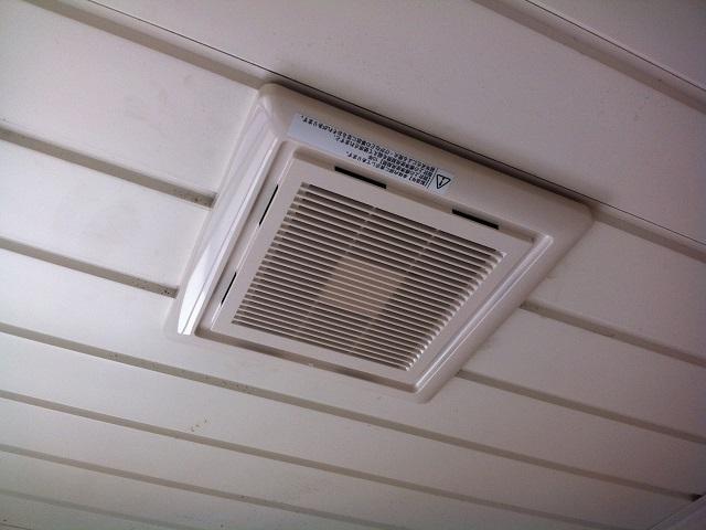 名古屋市北区 換気扇取替工事 浴室DVP-10GL8