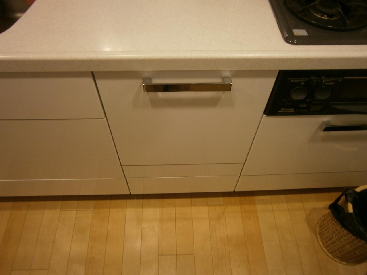 長久手市 食洗器取付工事 施工前