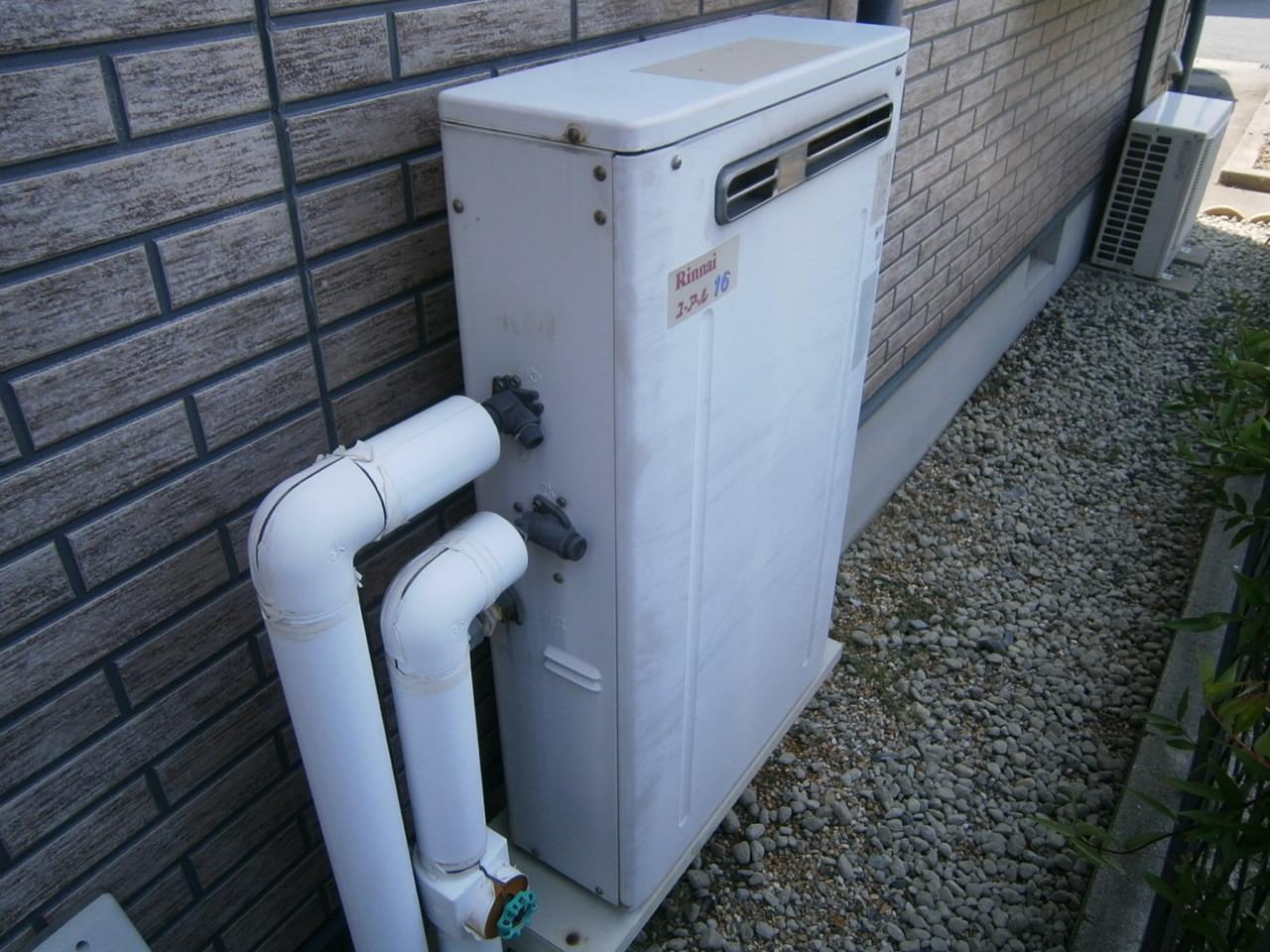 刈谷市 ガス給湯器取替工事 施工前