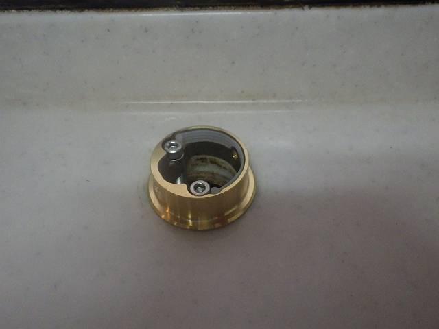 名古屋市名東区 キッチン水栓取替工事 金具つけたよ