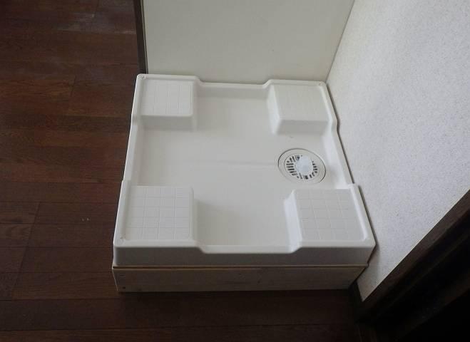 北名古屋市 洗濯機パン他取付工事完成1