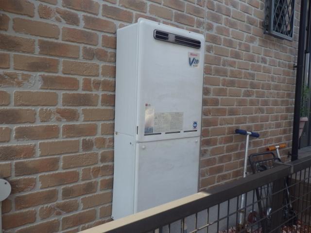 名古屋市緑区 ガス給湯器取替工事 施工前