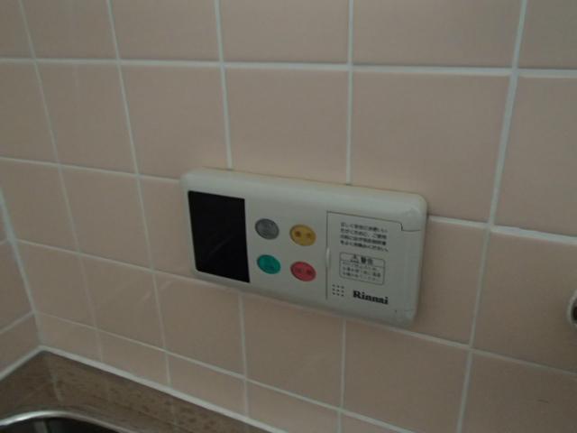 名古屋市守山区 ガス給湯器取替工事 リモコン施工前