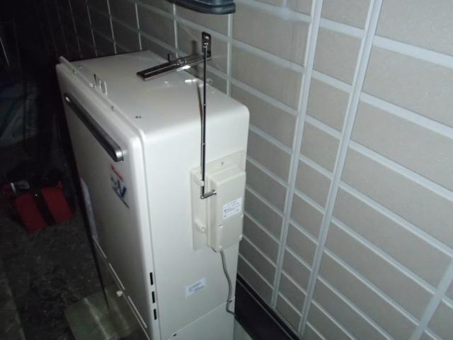 鈴鹿市 ガス給湯器取替工事 無線リモコン