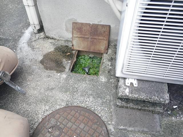 南区 漏水修理 施工前